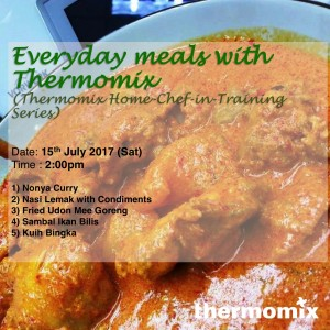 Thermomix Cooking Class Everyday meal 15072017