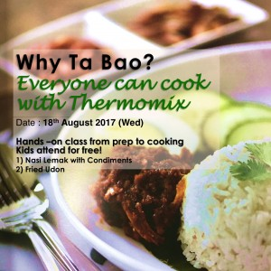 Thermomix hands on cooking class why tabao everyone can cook 1808