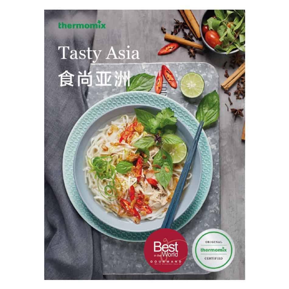 Tasty Asia Cookbook Recipes for Thermomix Bilingual TM20   TM20