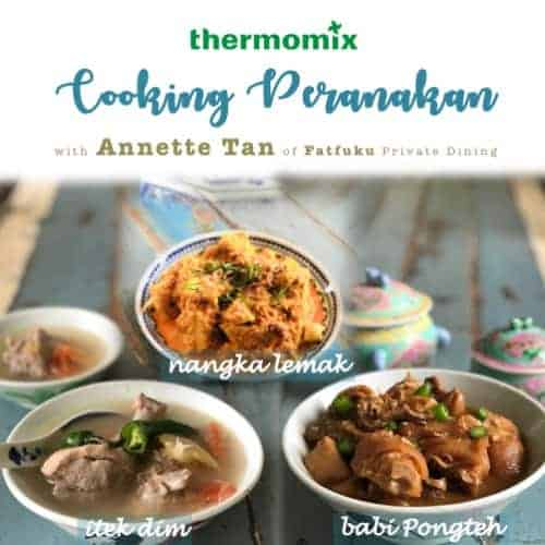 Thermomix Singapore Peranakan class