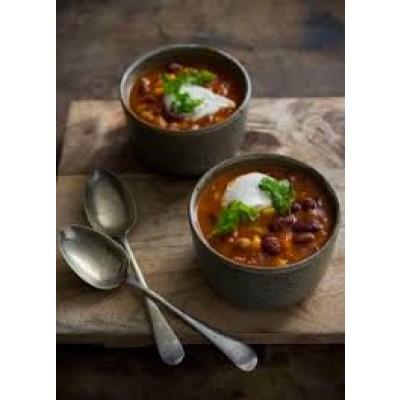 Smoky Mexican Bean Soup