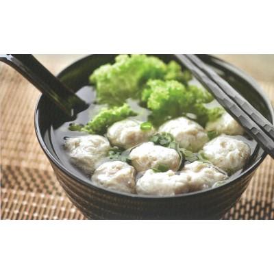 Homemade Fishball Soup