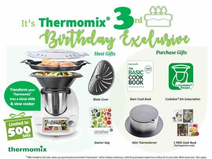 Thermomix 2020 3rd Birthday Week offer final