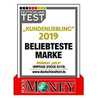 Award 2019 Focus Money