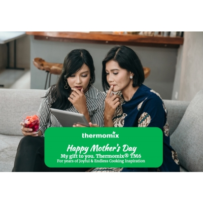 Thermomix mother's day digital cert