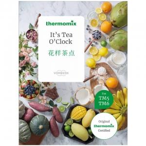 thermomix it's tea o clock cookbook cover